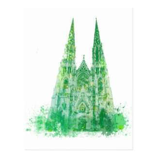 Saint Patrick's Cathedral New York Postcard