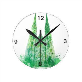 Saint Patrick's Cathedral New York Round Clock