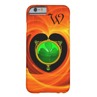 SAINT PATRICK'S CELTIC HEART,SHAMROCK MONOGRAM BARELY THERE iPhone 6 CASE