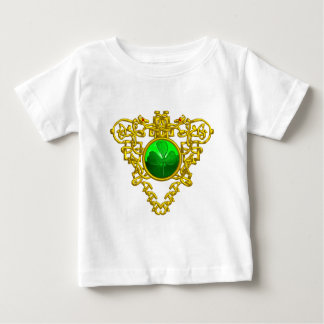 SAINT PATRICK'S CELTIC HEART WITH GREEN SHAMROCK BABY T-Shirt