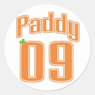 Saint Patrick's Day 2009 Round Sticker