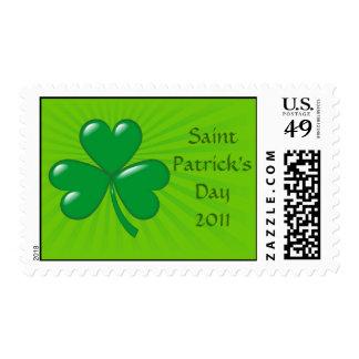 Saint Patrick's Day 2011 postage stamp