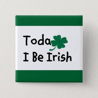 """Saint Patricks Day American Button"" Button"