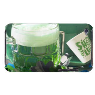 Saint Patrick's Day beer and shamrock Case-Mate iPod Touch Case