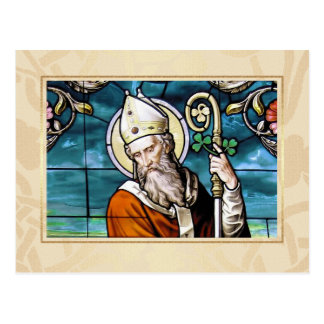 Saint Patrick's Day Blessings Religious Postcards