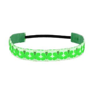 Saint Patricks Day Butterfly Non-Slip Headband