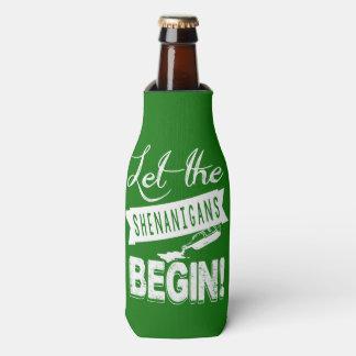 Saint Patricks Day Chugging Bottle Cooler