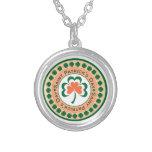 Saint Patrick's Day Clover Necklace