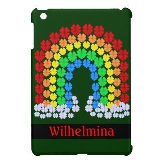 Saint Patrick's Day Clover Rainbow iPad Mini Covers