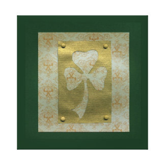 Saint Patrick's Day collage # 20 Stretched Canvas Prints