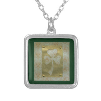 Saint Patrick's Day collage # 20 Personalized Necklace