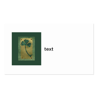 Saint Patrick's Day collage # 21 Business Card Template