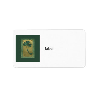 Saint Patrick's Day collage # 21 Label