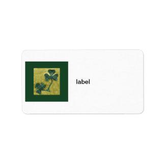 Saint Patrick's Day collage # 22 Label