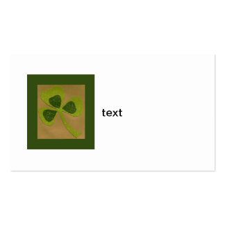 Saint Patrick's Day collage # 23 Business Card Template