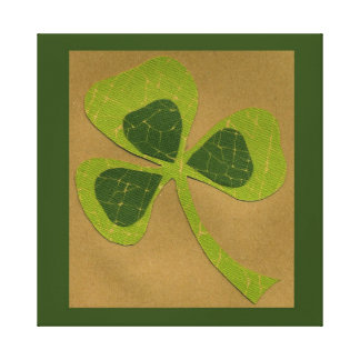Saint Patrick's Day collage # 23 Gallery Wrapped Canvas