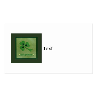 Saint Patrick's Day collage # 27 Business Card
