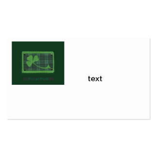 Saint Patrick's Day collage # 28 Business Card Template