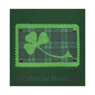 Saint Patrick's Day collage # 28 Gallery Wrap Canvas