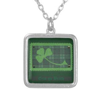 Saint Patrick's Day collage # 28 Custom Necklace