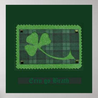 Saint Patrick's Day collage # 28 Print