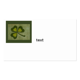 Saint Patrick's Day collage # 29 Business Card Template