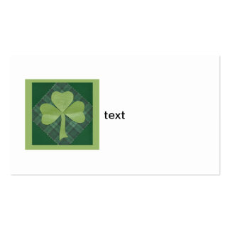 Saint Patrick's Day collage # 2 Business Card Template