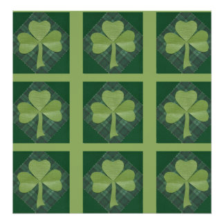 Saint Patrick's Day collage # 2 Poster