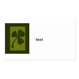 Saint Patrick's Day collage # 30 Business Cards