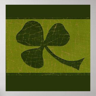 Saint Patrick's Day collage # 30 Print
