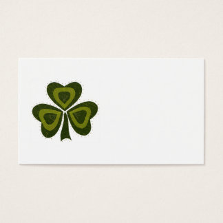 Saint Patrick's Day collage series # 10 Business Card