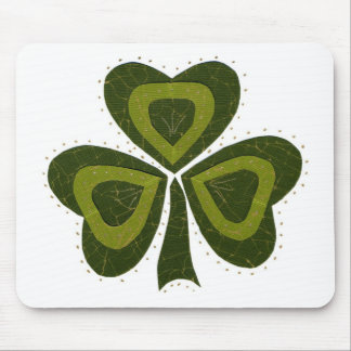 Saint Patrick's Day collage series # 10 Mouse Pad