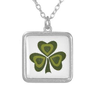 Saint Patrick's Day collage series # 10 Necklaces