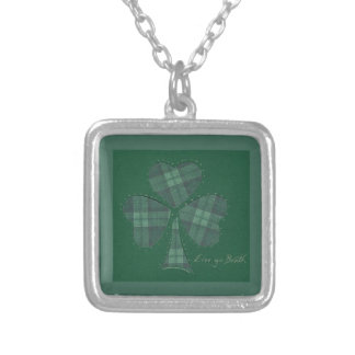 Saint Patrick's Day collage series # 12 Necklace