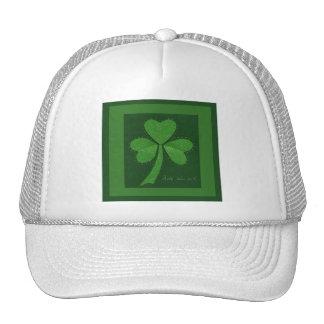 Saint Patrick's Day collage series # 13 Trucker Hat