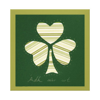 Saint Patrick's day collage series # 14 Gallery Wrapped Canvas