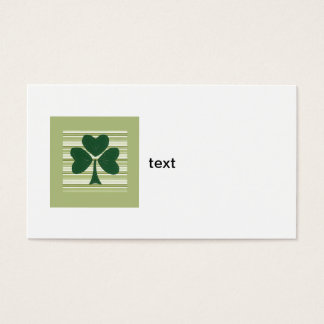 Saint Patrick's day collage series # 15 Business Card