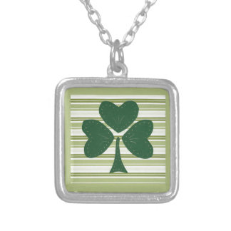 Saint Patrick's day collage series # 15 Custom Necklace