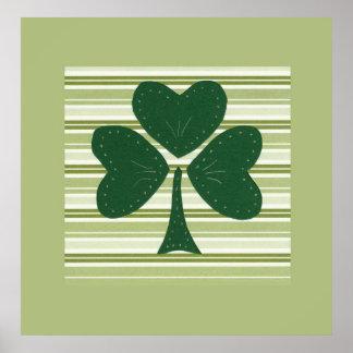 Saint Patrick's day collage series # 15 Print