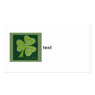 Saint Patrick's day collage series # 16 Business Card Template