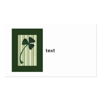 Saint Patrick's Day collage series # 18 Business Card Template