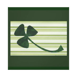 Saint Patrick's Day collage series # 18 Stretched Canvas Print
