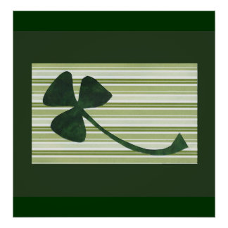 Saint Patrick's Day collage series # 18 Poster