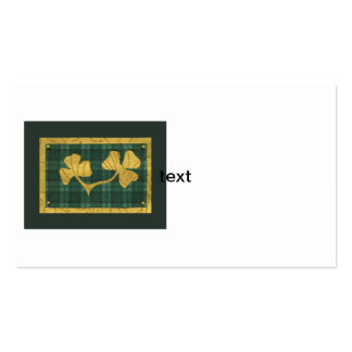 Saint Patrick's Day collage series # 19 Business Card Template
