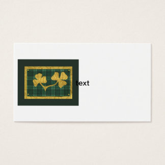 Saint Patrick's Day collage series # 19 Business Card