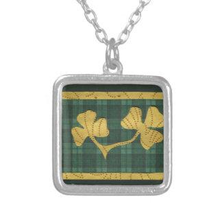 Saint Patrick's Day collage series # 19 Necklaces