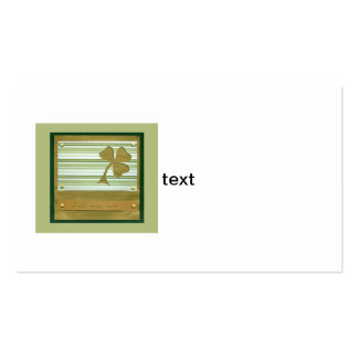 Saint Patrick's Day collage series # 1 Business Card Templates