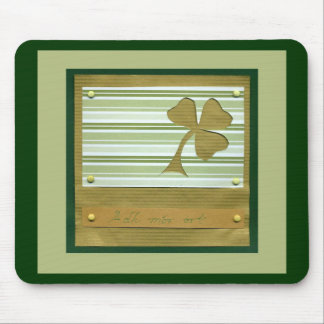 Saint Patrick's Day collage series # 1 Mouse Pad