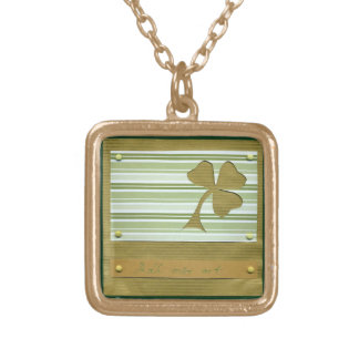 Saint Patrick's Day collage series # 1 Custom Necklace