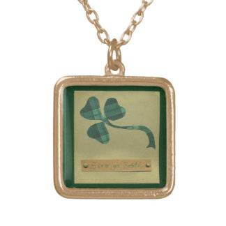 Saint Patrick's Day collage series #3 Personalized Necklace